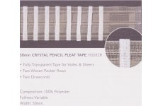 TRANSPARENT 2INCH TAPE: PRICE PER METRE