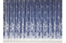 LARA WHITE NET CURTAIN: Priced Per metre