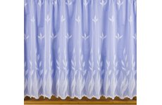 CINDY WHITE NET CURTAIN :priced per metre