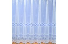 ANGEL WHITE NET CURTAIN:priced per metre