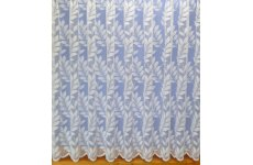 CARLA WHITE NET CURTAIN: priced per metre