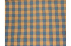 LINCOLN CHECK FABRIC PRICE IS FOR THE LAST 7 METRE