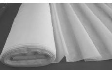 PLAIN WHITE VOILE FABRIC 150CM WIDE PRICE IS PER METRE