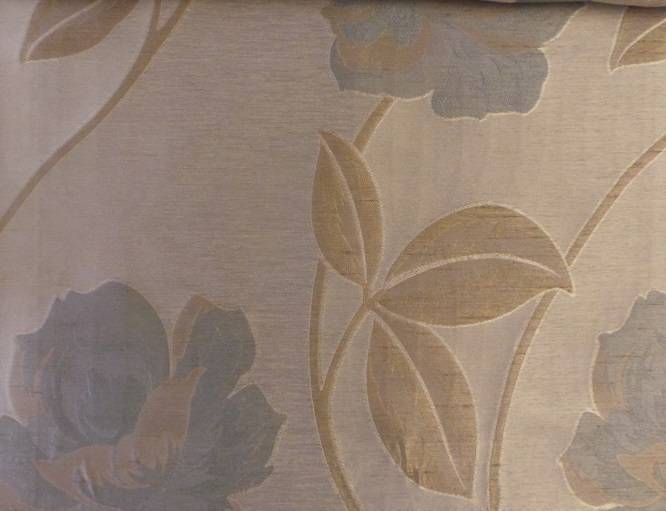 Ellington Powder Blue Amp Cream Fabric Sold By The Metre