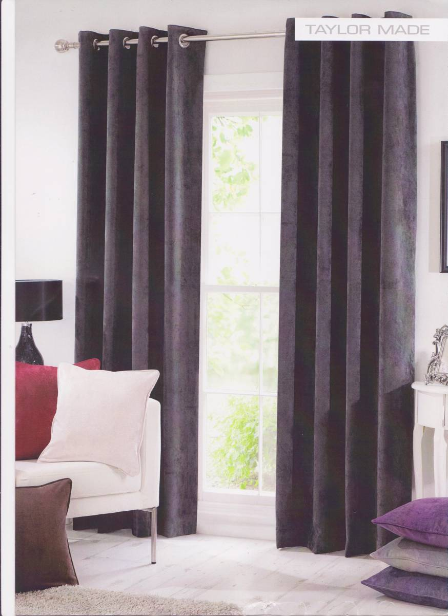 velvet curtains colour spice made to measure net curtain. Black Bedroom Furniture Sets. Home Design Ideas