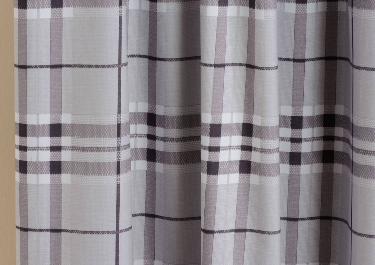 highland grey ready made curtains net curtain 2 curtains. Black Bedroom Furniture Sets. Home Design Ideas